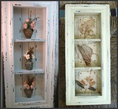 Before and After....and of course lovely images!  From the-feathered-nest.blogspot.com.  I think free image.  lj