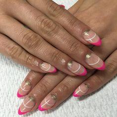 @princesschrysti inspired by @dallasbeautylounge #almondnails by nail_studio_bymai