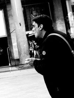 Duomo by Federico Poletti #smoke #chase #milan #duomo #blackandwhite #photo