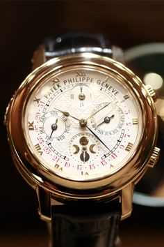 Patek Philippe. Every man should have 3 respectable watches. This should be one of them. Every man should have a wage that pays enough to have a Patek Phillipe too...