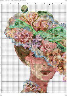 Flower Hat Lady 3