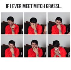 """My name is Djooo..."" Mitch straight up losing it ""What's your name?"" My name is Djooo too! More Mitch losing it..."