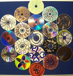 CD Recycled Art Projects | Recycled Cd Art