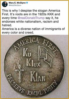 This is why David Duke and his sheet wearing pals love trump.