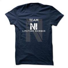 NI - TEAM NI LIFE TIME MEMBER LEGEND  - make your own shirt #design t shirts #funny tees