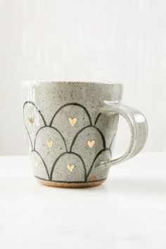 Pretty Heart Loop Mug