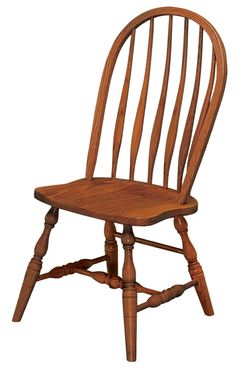 Amish Bent Feather Windsor Dining Chair