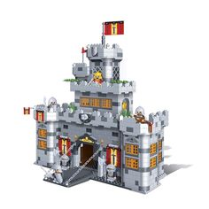 BanBao 8260 Black Sword Castle 988pcs Building Blocks