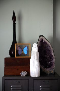 Geode Decor gifts & decor | enter the earth amethyst geode table. holy cow i