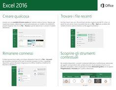 EXCEL 2016 TUTORIAL - PARTE 2 (ITA)   #office2016 #excel #tutorial #quickstart #parte2