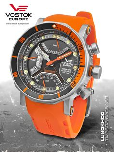Reference: TM3603 6205189 Lunokhod,Movement: Quartz movement,Diameter: 47mm,Water resistence: 300 meters