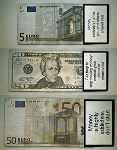 Money warnings