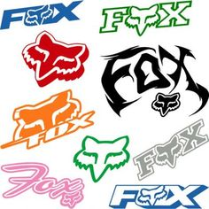 Craft Stickers and Decals - Bing images Craft Stickers, Window Stickers, Window Decals, Vinyl Decals, Fox Racing Logo, Fox Logo, Rebel Flag Tattoos, Father Tattoos, Biker Quotes