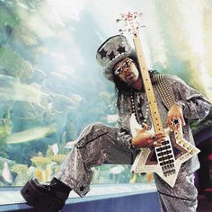 "William ""Bootsy"" Collins, known by some of his nicknames like, ""Casper the Funky Ghost"" to ""Bootzilla,"" and ""The world's only rhinestone rockstar monster of a doll"" is one of the leading names in f..."