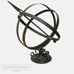 Sundial , Late century, made in France and sold by Claudia Collections in Belgium. Vintage Iron, Sundial, Late 20th Century, Collections, Accessories, Things To Sell, Jewelry