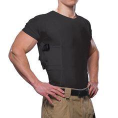 b8eb21ba17d7d4 Extra Off Coupon So Cheap UnderTech Undercover Men s Concealment Crew Neck T-Shirt  Black Shirt Size · Glock AccessoriesConcealed Carry MenCompression ...