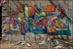 "Made by streetartist ""Aryz"" - #streetart #aryz - Click for more streetart"