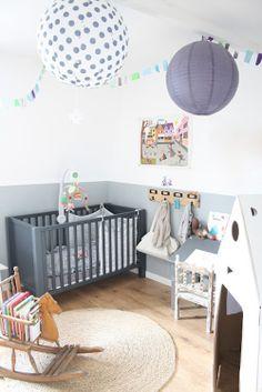 Grey theme nursery inspiration.  BabyBump - the app for pregnancy - babybumpapp.com