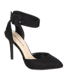 Take a look at this Breckelle's Black Mavis Pump on zulily today!