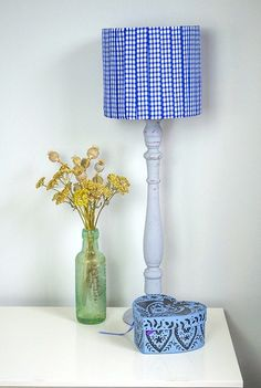 Up cycle ribbon by making this beautiful lampshade.   Use material you may already have, 'one mans rubbish is another treasure'