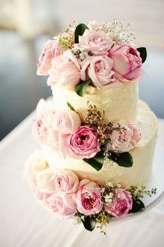 Un joli gâteau de mariage #mariage #gateau #wedding