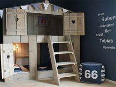 indoor treehouse bed - Google Search