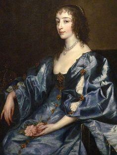Queen Henrietta Maria Flemish 1636 by Anthony Van Dyck 1 by mharrsch, via Flickr