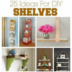 25 Great DIY Shelving Ideas