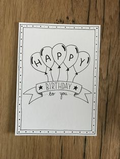 diy birthday cards for friends handmade Birthday card - Patricia Iffinger - Pic Happy Birthday Cards Handmade, Creative Birthday Cards, Homemade Birthday Cards, Birthday Cards For Friends, Diy Birthday, Birthday Quotes, 25th Birthday, Sister Birthday, Birthday Images