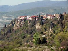 Edessa town situated on a large rock Pella region Macedonia Pella Greece, Macedonia Greece, Thessaloniki, Greece Travel, Holiday Travel, Planet Earth, Athens, Grand Canyon, City