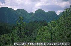 View of the mountains, Viñales, Pinar del Rio