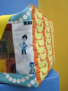 See-through storage tote/bag for kids