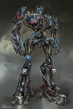 Transformers Age of Extinction Optimus Prime Concept Art
