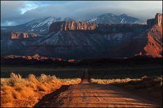 La Sal mountains, eastern Utah, USA