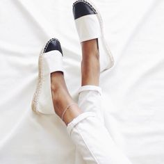 Chanel espadrilles     pinterest: @Blancazh