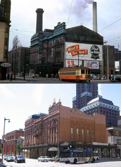 The  Pabst Theatre - Milwaukee - then and now....then, my great uncle was one of the stage managers...