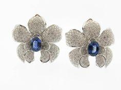 Orchid Earrings by Carrera & Carrera