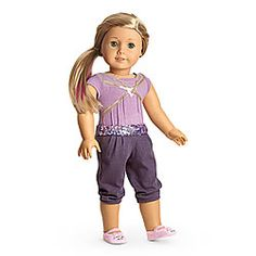 American Girl Doll Isabella Gym Outfit New