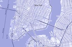 Street Map cutout maps Pinterest