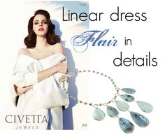 Drops of flair! http://www.civettajewels.it/store/en/home/80-choker-necklace-with-aquamarine-gemstone-estrosia.html