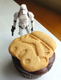 Star Wars Smores Troopers cupcakes