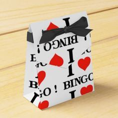 I Love Bingo 10 favor boxes Adult Birthday Party, 80th Birthday, Birthday Party Favors, Bingo Party, Party Prizes, Game Night Decorations, Wine Gift Boxes, Party Themes, Party Ideas