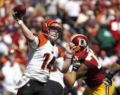 #Bengals quarterback #AndyDalton - career-high three touchdown passes. #NFL