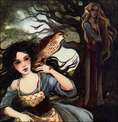 Trina Schart Hyman | SurLaLune Fairy Tales Blog: Snow White by Trina Schart…