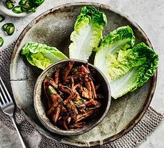 You can leave this barbacoa beef in the slow cooker during the day if you're entertaining. Serve in lettuce cups, tacos, or over rice with vegetables Slow Cooker Barbacoa, Slow Cooker Beef, Slow Cooker Recipes, Meat Recipes, Seafood Recipes, Healthy Recipes, Beef Barbacoa, Healthy Meals, Crockpot Recipes