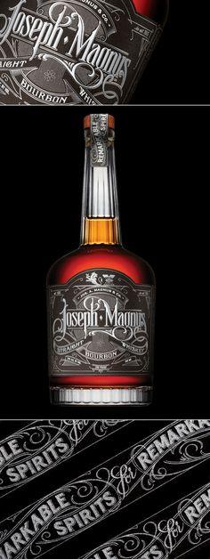 Joseph Magnus Bourbon — The Dieline   Packaging & Branding Design & Innovation News