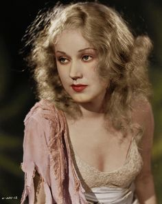 Fay Wray, c.1933. (Colorized Photo).