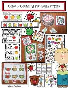 Apple activities: A ton of fun apple games, centers & activities that practice a variety of standards.