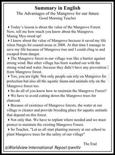 Example of cartoon strip on mangrove awareness produce for distribution to school.  Read more https://wvltv.wordpress.com/2015/06/09/peoples-participation-a-critical-component/  ADOPT A MANGROVE  http://www.thorheyerdahlclimatepark.org/product/mangrove-tree/
