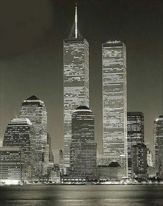 Twin Towers, Manhattan, NYC